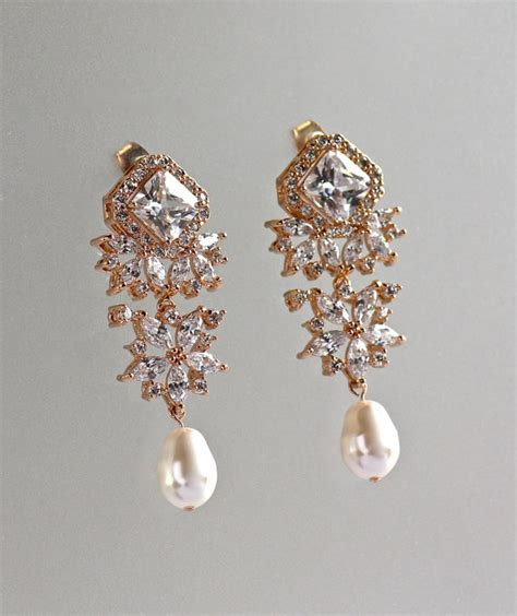drop chandelier earrings chandelier earrings gold bridal earrings