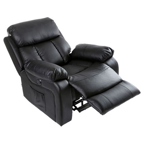 heated leather recliner chester electric heated leather massage recliner chair