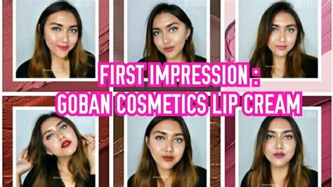 Goban Lipstick Melted Matte Lip Day Dreaming 4 5gr impression goban cosmetics melted matte lip