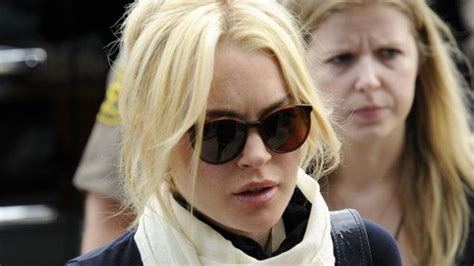 Is Lindsay Lohan These Days by Lohan Sentenced To 120 Days In News