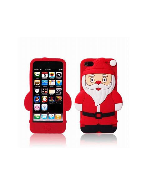 fundas iphone 4 4s funda papa noel iphone 4 4s 5 5s se