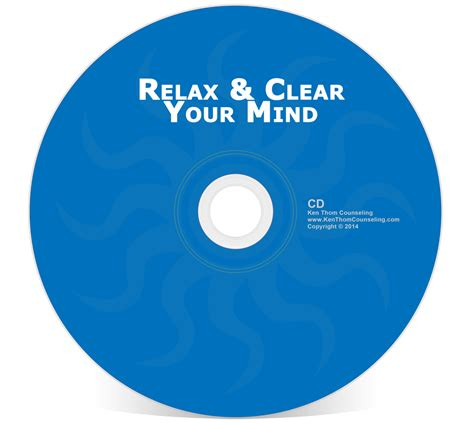 relax my relax clear your mind ken thom christian counseling
