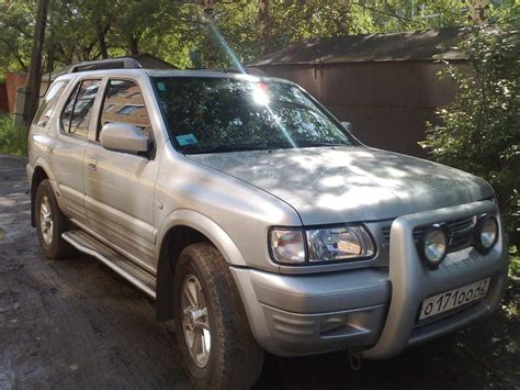 opel frontera 2002 2002 opel frontera pics 2 2 diesel manual for sale