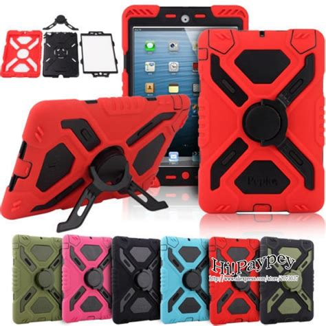 Mini 2 3 4 Defender Protection Army Grade Armor L Cover new pepkoo defender spider stand waterproof dirt