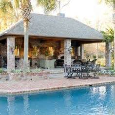 pool and outdoor kitchen designs garage and shed outdoor cooking area design ideas