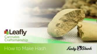 cannabis craftsmanship how to make hash youtube