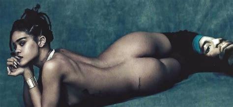 Rihanna S Nude Boobs And Ass