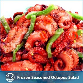 Chuka Idako Seasoned Baby Octopus Frozen Seafood frozen baby octopus frozen seasoned octopus salad buy cooked octopus seafood sushi product on