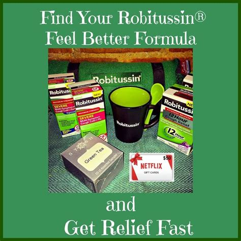 Does Netflix Have Gift Cards - robitussin 174 feelbetterformula 50 netflix gift card prize package giveaway 12 24
