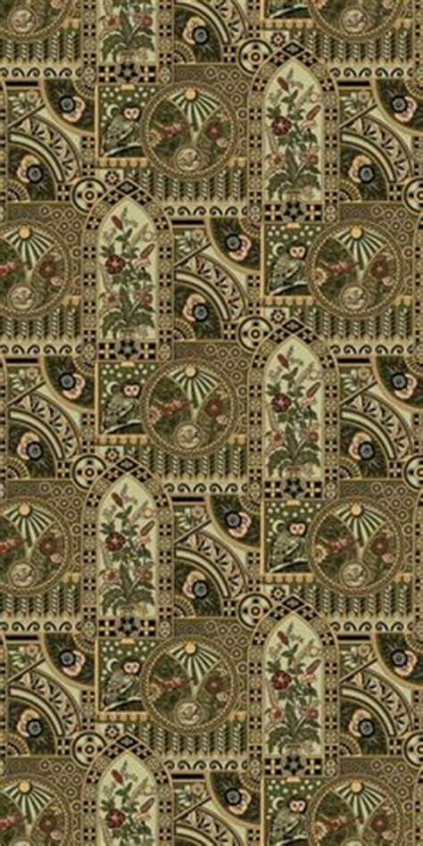 aesthetic movement wallpaper nocturnal owl historic wallpapers victorian arts