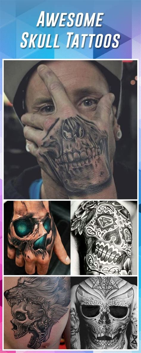 skull tattoo designs and ideas 60 best skull tattoos meanings ideas and designs 2019