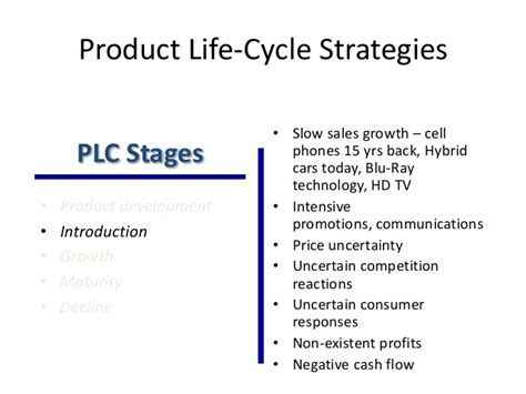 Mba Plc by Product Cycle Marketing Strategy