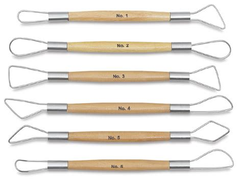 wire end clay tool set blick art materials