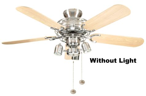 Fantasia Ceiling Fans by Fantasia 110859 42in Gemini Stainless Steel Ceiling Fan