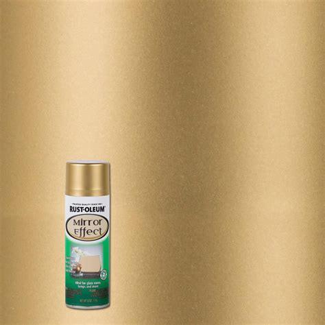 spray paint mirror rust oleum specialty 6 oz gold mirror finish spray paint