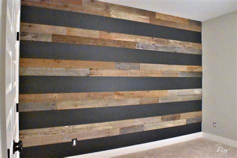 create  barn wood accent wall hey fitzy