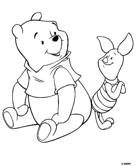 classic winnie the pooh coloring pages az coloring pages