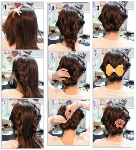 Hairstyles For With Medium Hair Step By Step by Step By Step Hairstyles For Shoulder Length Hair Www