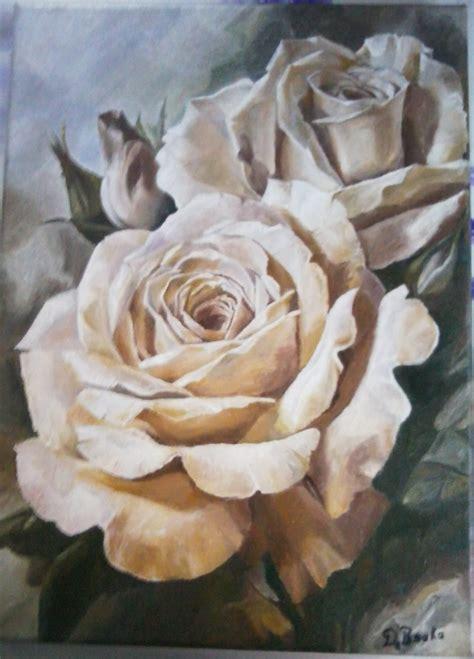 Tableau Avec Des Roses