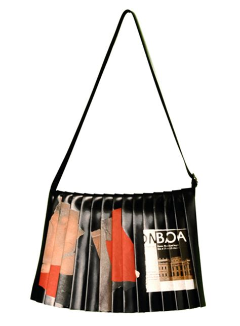 Di Giacinto Recycled Bags by Di Giacinto S Plisse Bag Collection 2007 Fashion