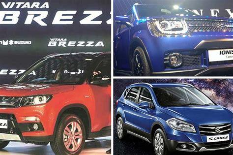 Maruthi Suzuki Cars List Photos List Of Maruti Suzuki Cars At The Auto Expo 2016