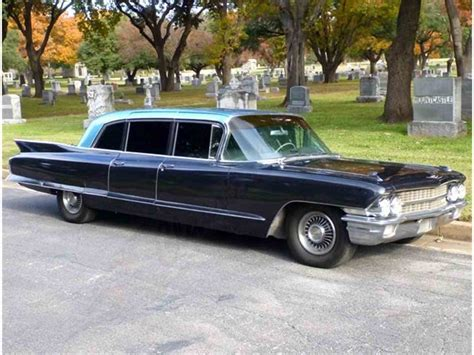 1962 Cadillac Limo 1962 cadillac fleetwood limousine for sale classiccars