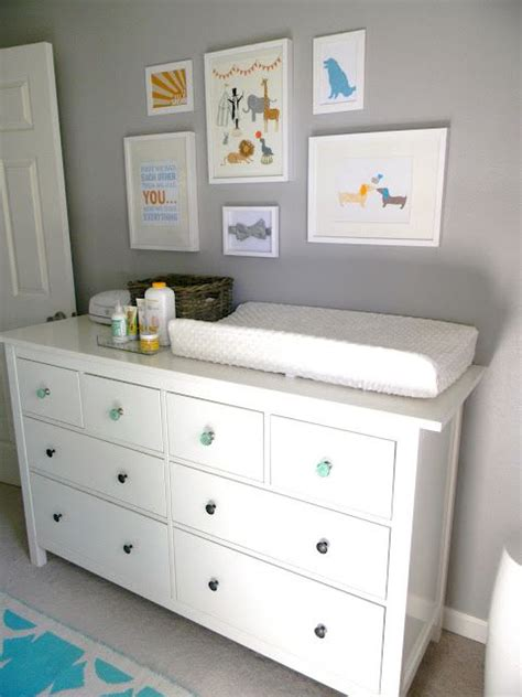 Ikea Dresser Changing Table White Ikea Dresser As Changing Table Josh Liz Are A Baby Pinterest Grey