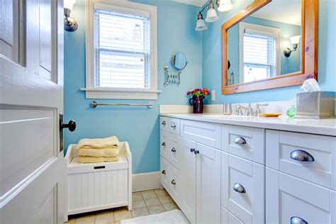 color bathroom best bathroom colors for 2017 based on popularity