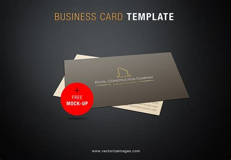 Me Business Card Template by Free Business Card Mock Up Template Pixsector