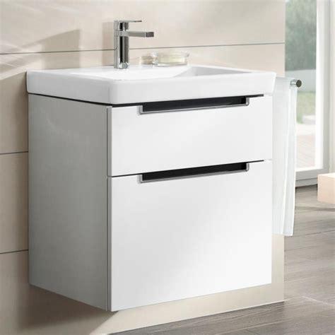 Villeroy And Boch Subway Vanity Unit bathroom furniture 187 basin vanity units 187 villeroy boch subway 2 0 500 mm basin vanity