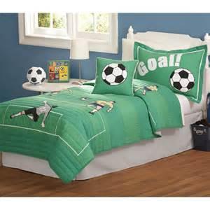 Soccer Bed Set Pem America Soccer Quilt Set At Hayneedle
