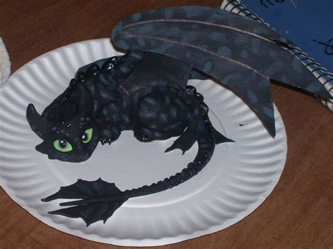 How To Make Toothless Out Of Paper - toothless clay model by firewhiskey77 on deviantart