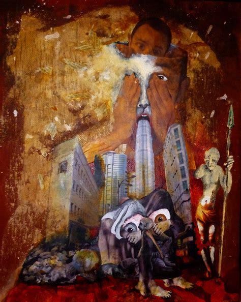 la machina peinture collage sur 233 alisme engag 233 peintre