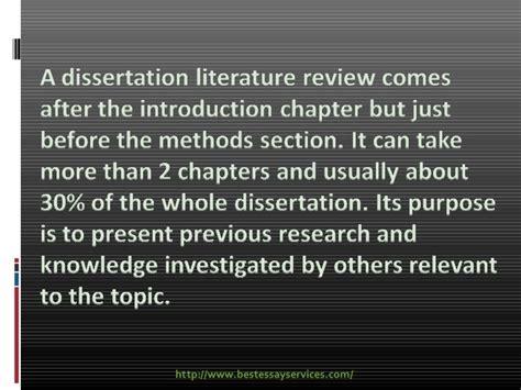 dissertation literature review dissertation literature review
