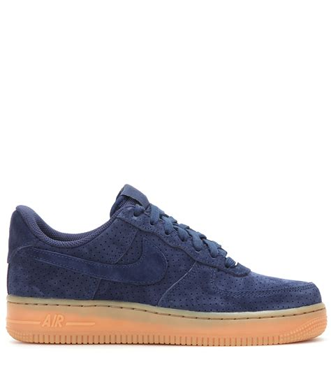 Nike Suede 1 lyst nike air 1 suede sneakers in blue