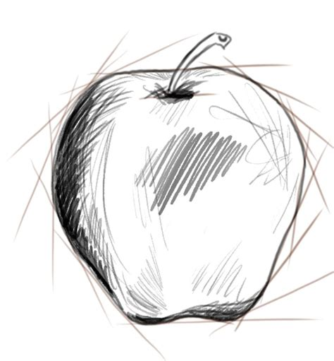 sketch by mac photoshop tutorial how to draw an apple artisul