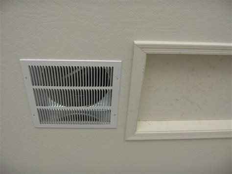 fan in garage vent fan 16x10 wall mount for vent fan