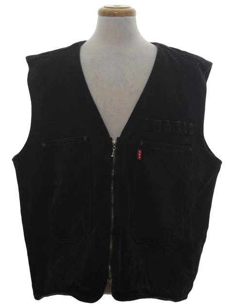 90s Vintage Yes Men Vest: 90s  Yes Men  Mens black