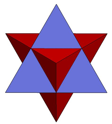 Origami Stellated Octahedron - file stellated octahedron 3 fold axis png wikimedia commons