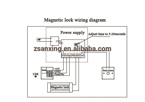 security gate wiring diagram