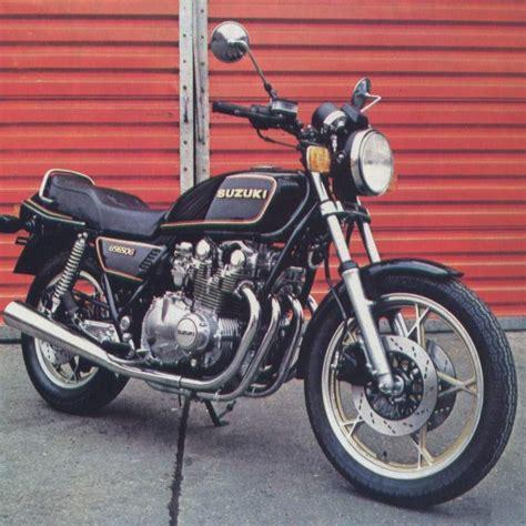 Suzuki Gs 650 Specs Suzuki Gs650gt