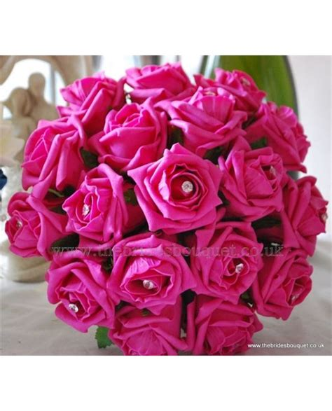 Wedding Flowers Roses by Pink Wedding Flowers Bouquet Posy Brides