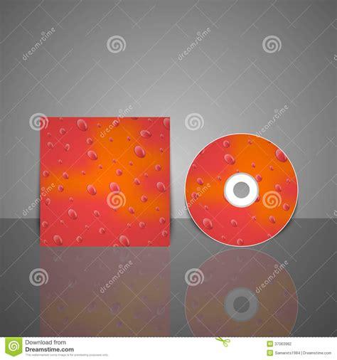 cd cover design vector cd cover design template vector illustration stock