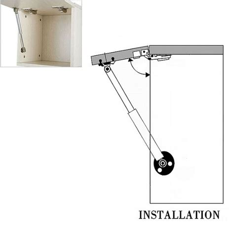 cabinet door lift up hydraulic gas spring support hydraulic gas strut lift support kitchen door cabinet