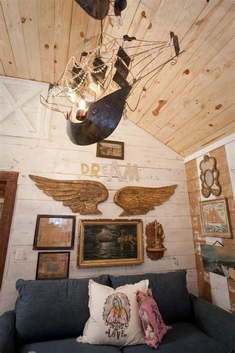 junk gypsies diy pirate ship chandeliers from the junk gypsies fairytale living room on hgtv