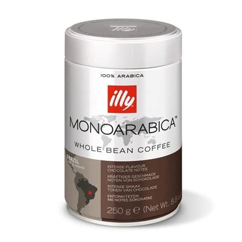 Coffee Bean Illy illy coffee beans monoarabica brazil 250gr