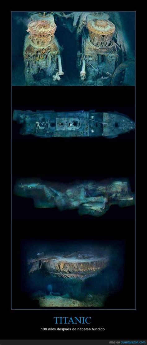 imagenes verdaderas del titanic hundido 161 cu 225 nta raz 243 n titanic
