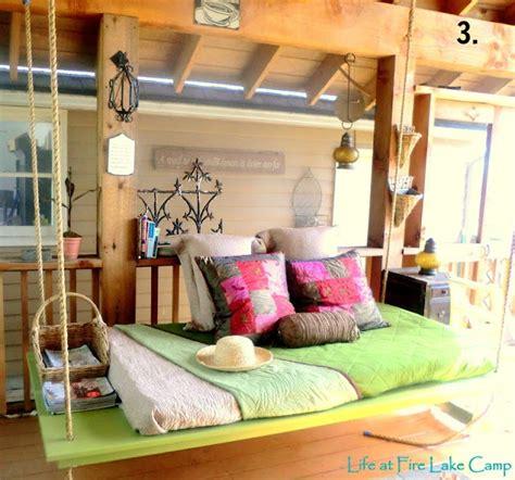 diy hanging bed remodelaholic diy hanging loft bed in a girl s bedroom
