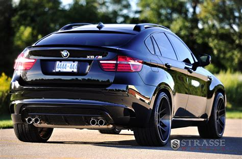 black bmw suv bmw x6 m black suv strasse wheels tuning cars wallpaper