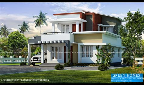 kerala home design thiruvalla green homes contemporary home designs